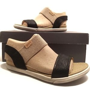 Ecco Womens Damara Sandal Black/Noir Size: 6